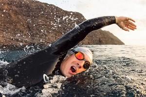 Testschwimmen Orca